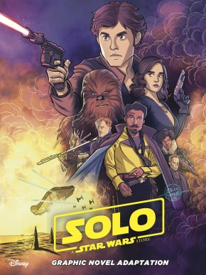 STAR WARS SOLO ADAPTATION GRAPHIC NOVEL (IDW EDITION)