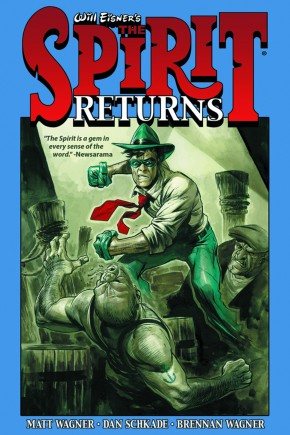 WILL EISNER SPIRIT RETURNS HARDCOVER