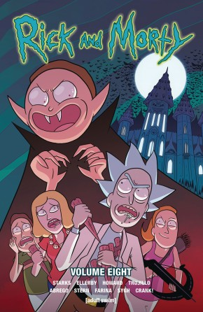 RICK AND MORTY VOLUME 8 GRAPHIC NOVEL