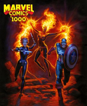 MARVEL COMICS #1000 HILDEBRANDT VARIANT