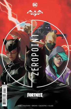 BATMAN FORTNITE ZERO POINT #1 1ST PRINTING