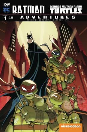 BATMAN TEENAGE MUTANT NINJA TURTLES ADVENTURES #1