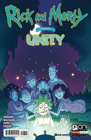 RICK AND MORTY PRESENTS UNITY #1