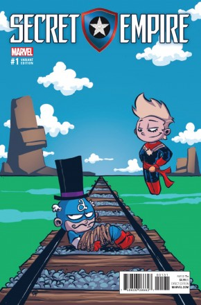 SECRET EMPIRE #1 SKOTTIE YOUNG BABY VARIANT COVER