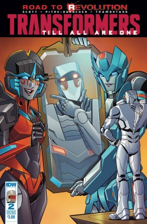 TRANSFORMERS TILL ALL ARE ONE #2 ROM VARIANT