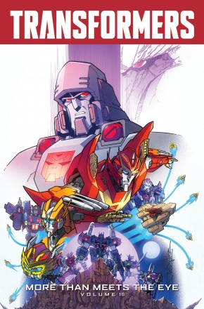 TRANSFORMERS MORE THAN MEETS THE EYE VOLUME 10 GRAPHIC NOVEL