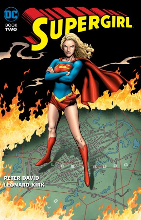 SUPERGIRL BY PETER DAVID BOOK 2 GRAPHIC NOVEL