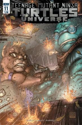 TEENAGE MUTANT NINJA TURTLES UNIVERSE #11
