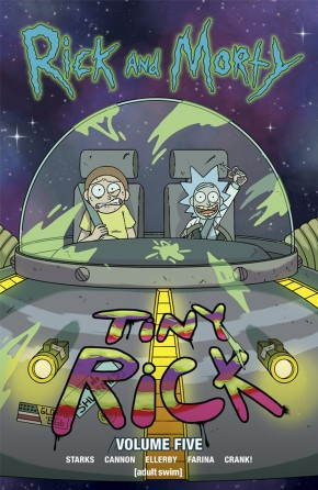 RICK AND MORTY VOLUME 5 GRAPHIC NOVEL
