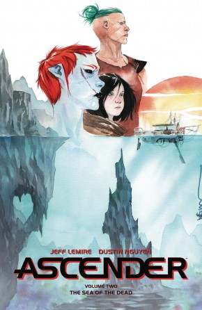 ASCENDER VOLUME 2 THE SEA OF THE DEAD GRAPHIC NOVEL