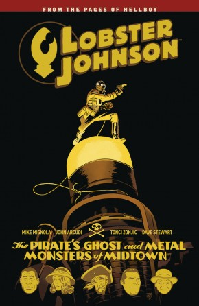 LOBSTER JOHNSON VOLUME 5 PIRATES GHOST GRAPHIC NOVEL
