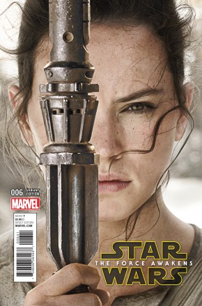 STAR WARS FORCE AWAKENS ADAPTATION #6 1 IN 15 INCENTIVE MOVIE VARIANT COVER