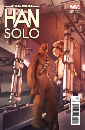 STAR WARS HAN SOLO #4 JAMAL CAMPBELL 1 IN 25 INCENTIVE VARIANT COVER