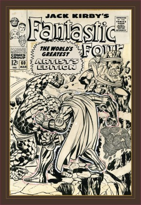 JACK KIRBY FANTASTIC FOUR WORLDS GREATEST ARTIST EDITION HARDCOVER