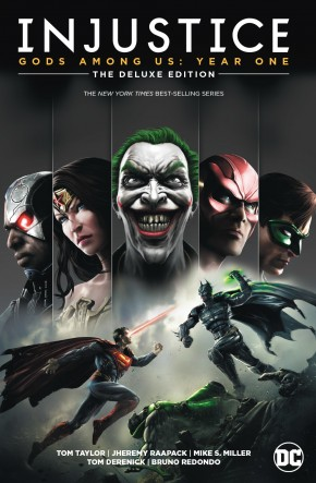 INJUSTICE GODS AMONG US YEAR ONE DELUXE EDITION BOOK 1 HARDCOVER