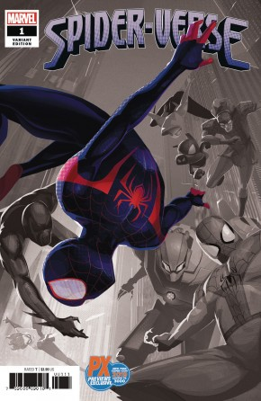 SPIDER-VERSE #1 (2019 SERIES) NYCC 2019 DALIT VARIANT