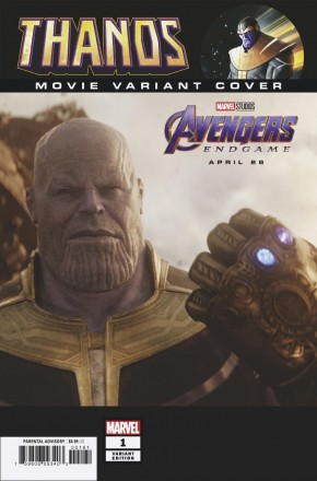 THANOS #1 (2019 SERIES) MOVIE 1 IN 10 INCENTIVE VARIANT