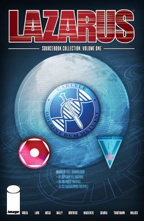 LAZARUS SOURCEBOOK COLLECTION VOLUME 1 GRAPHIC NOVEL