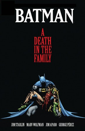 BATMAN A DEATH IN THE FAMILY DELUXE HARDCOVER