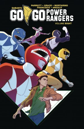 GO GO POWER RANGERS VOLUME 8 GRAPHIC NOVEL