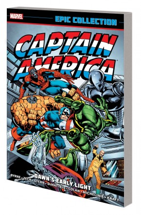 CAPTAIN AMERICA EPIC COLLECTION DAWNS EARLY LIGHT GRAPHIC NOVEL
