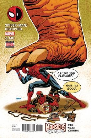 SPIDER-MAN DEADPOOL #1.MU