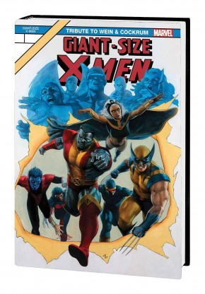 GIANT-SIZE X-MEN TRIBUTE WEIN COCKRUM GALLERY EDITION HARDCOVER