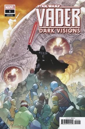 STAR WARS VADER DARK VISIONS #1 YU 1 IN 25 INCENTIVE VARIANT