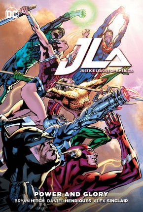 JUSTICE LEAGUE OF AMERICA POWER AND GLORY HARDCOVER
