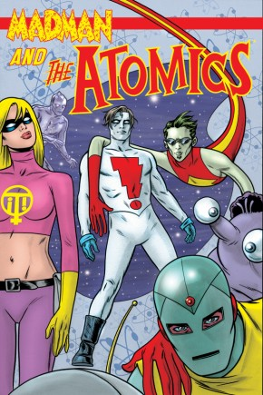 MADMAN AND THE ATOMICS GRAPHIC NOVEL