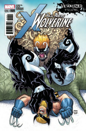 ALL NEW WOLVERINE #24 VENOMIZED SABRETOOTH VARIANT
