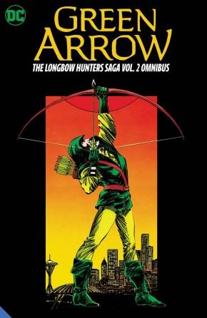 GREEN ARROW THE LONGBOW HUNTERS SAGA OMNIBUS VOLUME 2 HARDCOVER
