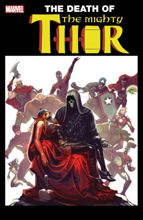 MIGHTY THOR #700 (2015 SERIES) LEGACY HANS LENTICULAR VARIANT