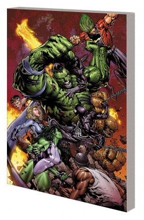 HULK WORLD WAR HULK GRAPHIC NOVEL (NEW PRINTING)