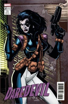 DAREDEVIL #23 (2015 SERIES) X-MEN CARD VARIANT COVER