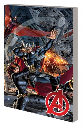 AVENGERS BY JONATHAN HICKMAN THE COMPLETE COLLECTION VOLUME 1 GRAPHIC NOVEL