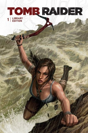 TOMB RAIDER VOLUME 1 LIBRARY EDITION HARDCOVER