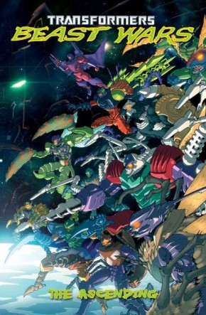 TRANSFORMERS BEAST WARS VOLUME 2 THE ASCENDING GRAPHIC NOVEL