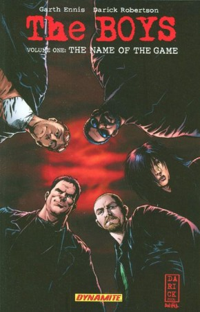 THE BOYS VOLUME 1 THE NAME OF THE GAME GRAPHIC NOVEL