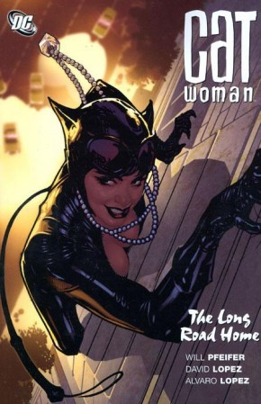CATWOMAN THE LONG ROAD HOME GRAPHIC NOVEL