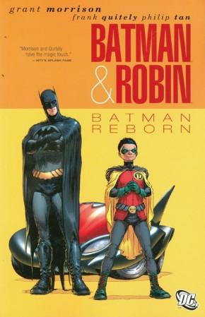 BATMAN AND ROBIN VOLUME 1 BATMAN REBORN GRAPHIC NOVEL