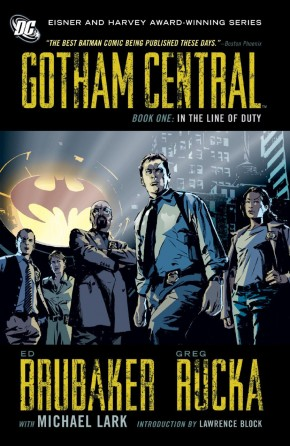 GOTHAM CENTRAL BOOK 1 IN THE LINE OF DUTY GRAPHIC NOVEL