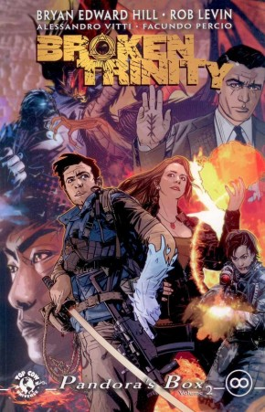 BROKEN TRINITY VOLUME 2 PANDORAS BOX GRAPHIC NOVEL