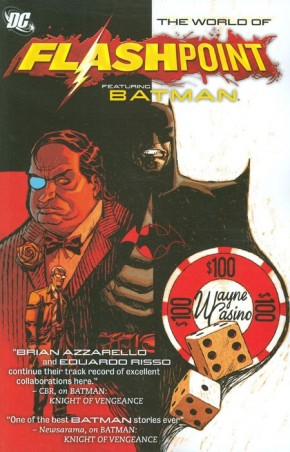 FLASHPOINT WORLD OF FLASHPOINT BATMAN GRAPHIC NOVEL
