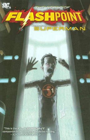 FLASHPOINT WORLD OF FLASHPOINT SUPERMAN GRAPHIC NOVEL