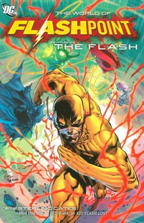 FLASHPOINT WORLD OF FLASHPOINT THE FLASH GRAPHIC NOVEL