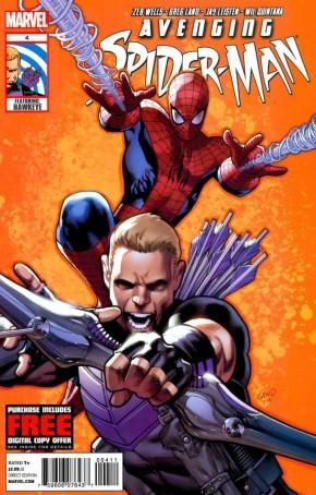 AVENGING SPIDER-MAN #4 (2011 SERIES)