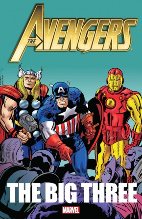 AVENGERS THE BIG THREE GRAPHIC NOVEL