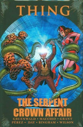THING SERPENT CROWN AFFAIR HARDCOVER