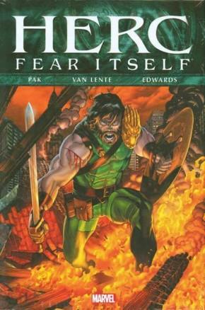 FEAR ITSELF HERC HARDCOVER